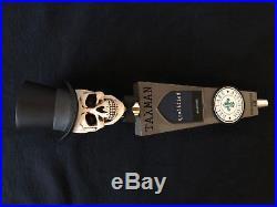 SUPER RARE Taxman beer tap handle VHTF! NEW & never displayed