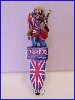 Scarce Limited Iron Maiden Trooper Robinsons Brewery 12.5 Draft Beer Tap Handle
