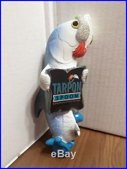 Scarce NOS Tarpon Spoon Bohemian Style Fish Bait Lure 9 Beer Keg Tap Handle