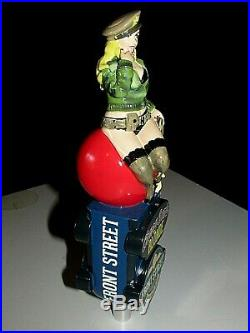 Sexy Girl Military Cherry Bomb Blonde Front Street Brewery Beer Tap Handle Tall