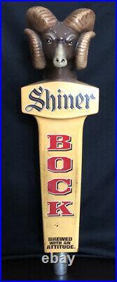 Shiner Bock Vintage Ram Tap Handle Extremely Rare