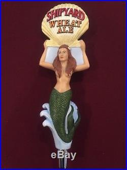 Shipyard Wheat Ale Mermaid Beer Tap Handle