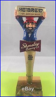 Shmaltz Brewing Company Hebrew The Chosen Beer Tap Handle Rare Figural Beer Tap