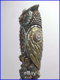Steampunk Owl Bar Beer Tap Handle Direct From Ron Lee