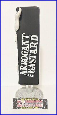 Stone Brewing Co Arrogant Bastard Ale Beer Tap Handle 8 Tall Brand New RARE