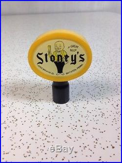 Stoney's Beer Tap Handle Vintage Rare Knob