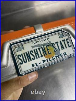 Sunshine State Florida Lager Beer Tap Handle Car Front & Back End 12