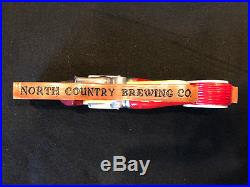Super RARE North Country Firehouse Red beer tap handle COOL
