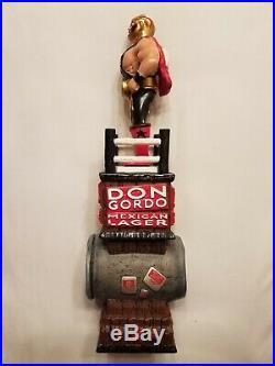 Super Rare Don Gordo Cerveza Tap Handle