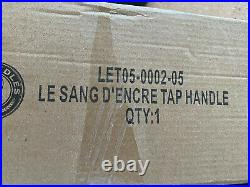 Super Rare and VHTF Le Sang D'Encre Le Troududiable beer tap handle NEW