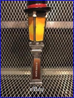 THREE SPIRITS BREWERY Charlotte NC Charles Dickins Lamp Post Beer Tap Handle
