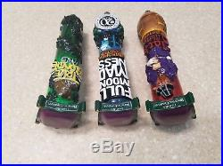 Tampa Bay Brewing Full Moon Madness True Blond Ale Jack Quaffer Beer Tap Handle