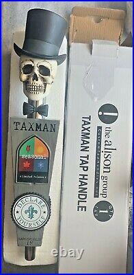 Taxman Brewing Tap Handle