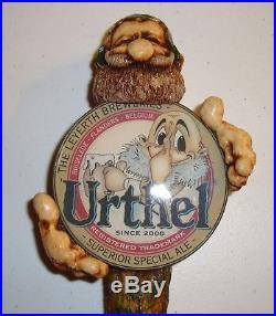 The Leyerth Breweries Urthel Gnome Beer Tap Handle rare Superior Special Ale