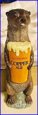 ULTRA RARE Otter Creek Copper Ale Beer Tap Handle