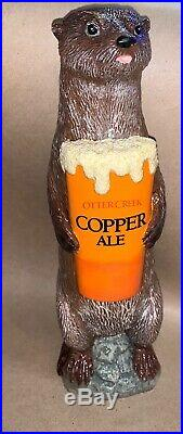 ULTRA RARE Otter Creek Otter Beer Tap Handle