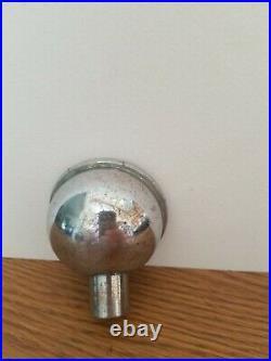 (VTG) 1930s bosch beer ball knob chrome tap handle Houghton Michigan