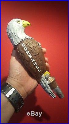 Very Rare Currahee Brewing Bald Eagle Beer Tap Handle