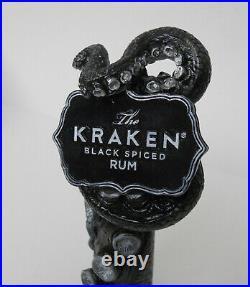Very Rare KRAKEN BLACK SPICED RUM Beer Tap Handle
