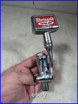 Vintage 1930's/40's Economy Faucet Beer Tap Spigot Newark NJ WithRheingold Handle