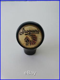 Vintage 1930's Iroquois Beer Ball Knob Tap Handle Buffalo New York Rare