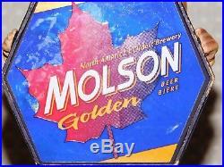 Vintage 80's Bob & Doug McKenzie Molson Golden Beer Tap Handle Knob Rare SCTV