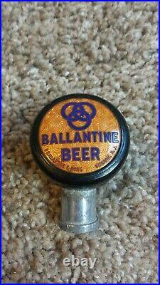 Vintage Ballantine Beer Ball Knob Tap Handle #1 Bakelite Newark, New Jersey