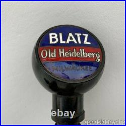 Vintage Blatz Beer Tap Handle with Brass Spigot Tap Faucet Old Heidelberg