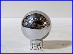 Vintage Budweiser Beer Ball Tap Knob Handle Anheuser Busch Brewing St. Louis Mo