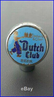 Vintage Dutch Club Beer Ball Knob Tap Handle 1940's Pittsburgh, PA