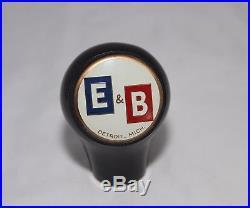 Vintage E & B Beer Tap Marker Beer Tap Ball Beer Tap Knob Beer Tap Handle