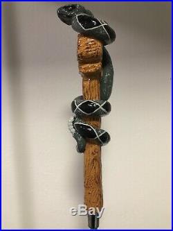 Vintage Elk Grove RATTLESNAKE WHEAT Full 3D Figural RARE Tap Handle NEW