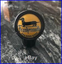 Vintage Frankenmuth Beer Brewing Ball Tap Knob / Handle MI Dachshund Weenie Dog