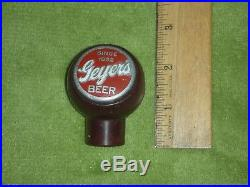 Vintage Geyers Beer Tap Knob / Handle Geyers Brewing Co Frankenmuth MI