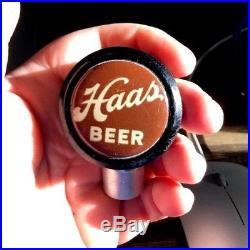 Vintage Haas Beer Brewing Co Ball Tap Knob / Handle Houghton MI Michigan Up
