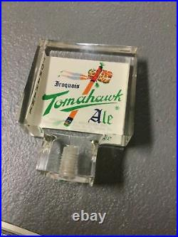 Vintage Iroquois Tomahawk Ale Beer Tap Handle Buffalo New York
