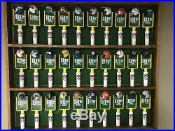 Vintage Miller Lite Football Beer Tap Handle Knobs
