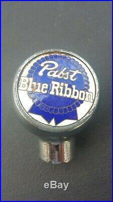 Vintage Pabst Blue Ribbon #2 Blue Ball Knob Tap Handle 1930's Milwaukee, WI
