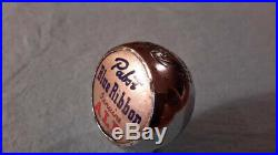 Vintage Pabst Blue Ribbon Ale Beer Ball Knob Tap Handle 1930's