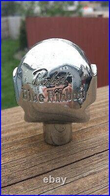 Vintage Pabst Blue Ribbon Beer Ball Knob Tap Handle #1 1940's Milwaukee, WI