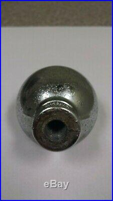 Vintage Peoples Beer Ball Knob Tap Handle Late 30's Oshkosh, Wisconsin #1987