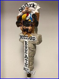 Vintage RARE Big Rock BUZZARD BREATH Full 3D Figural Tap Handle NEW Condition