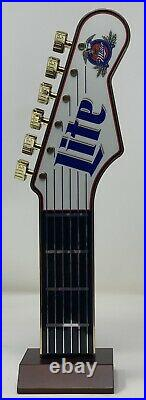 Vintage Rare Miller Lite Guitar Handle Beer Tap with Frets NOS