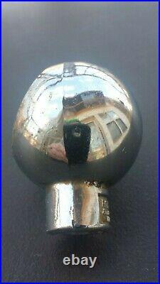 Vintage Schmidt Beer Ball Knob Tap Handle 1930's St. Paul, Minnesota