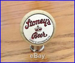 Vintage Stoney's Beer Ball Tap Knob / Handle Jones Brewing Co Smithton Pa