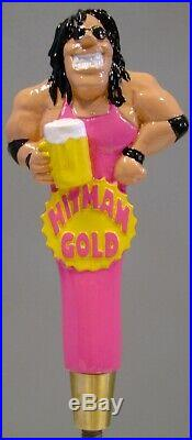 Vintage Valley Br. Co. HITMAN RARE Full 3D Figural Tap Handle NEW Condition