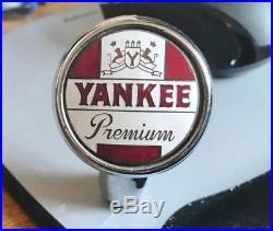 Vintage Yankee Premium Beer Ball Tap Knob Handle Lackawanna Brewing Scranton Pa