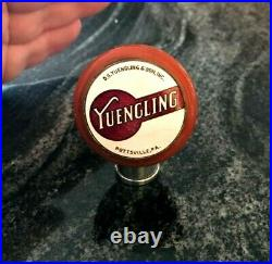 Vintage Yuengling Beer Brewing Co Ball Tap Knob / Handle Pottsville Pa