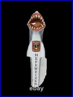WIDMER BROTHERS Great White Shark HEFEWEIZEN Beer Tap Handle
