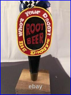Whos Your Daddy Big Daddys Root Beer Tap Handle Rare Figural Beer Tap Handle